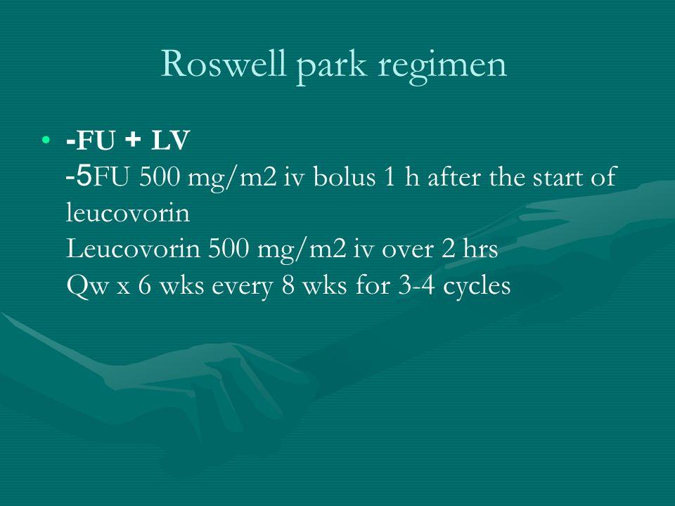 Roswell park regimen