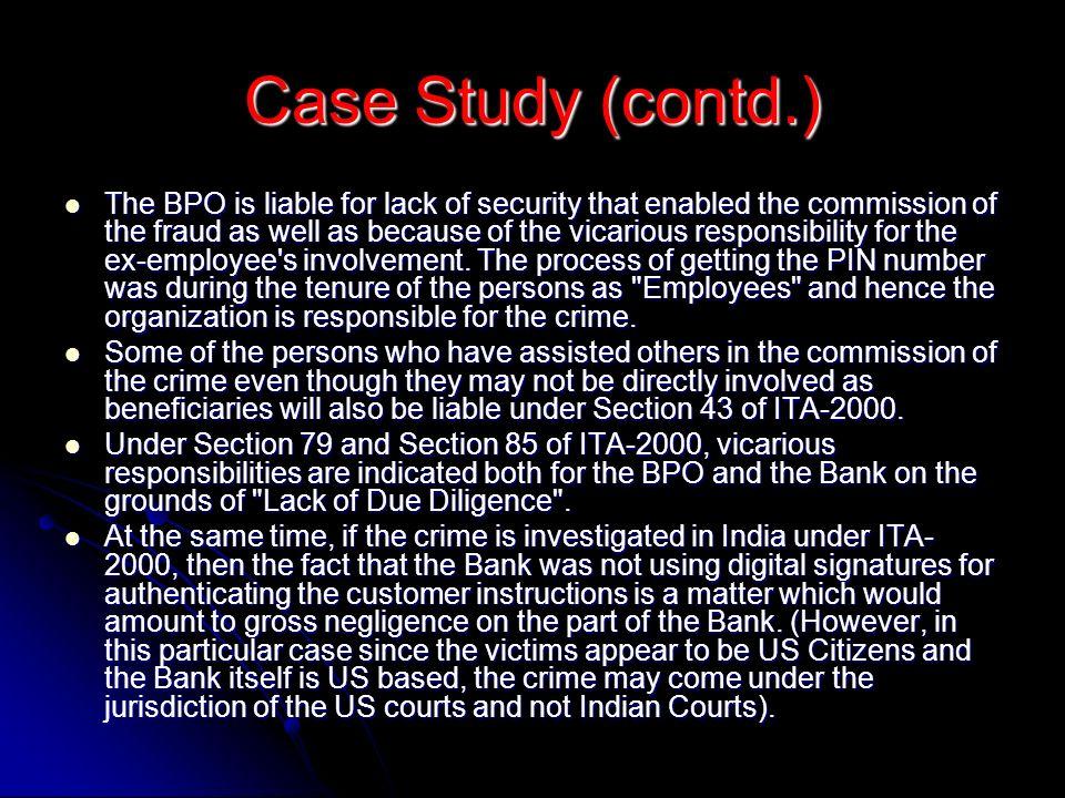 Case Study (contd.)