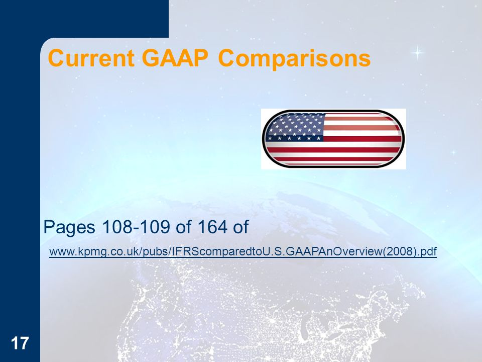 Current GAAP Comparisons