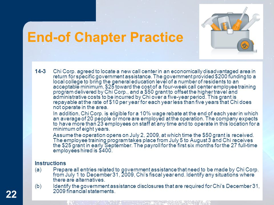 End-of Chapter Practice