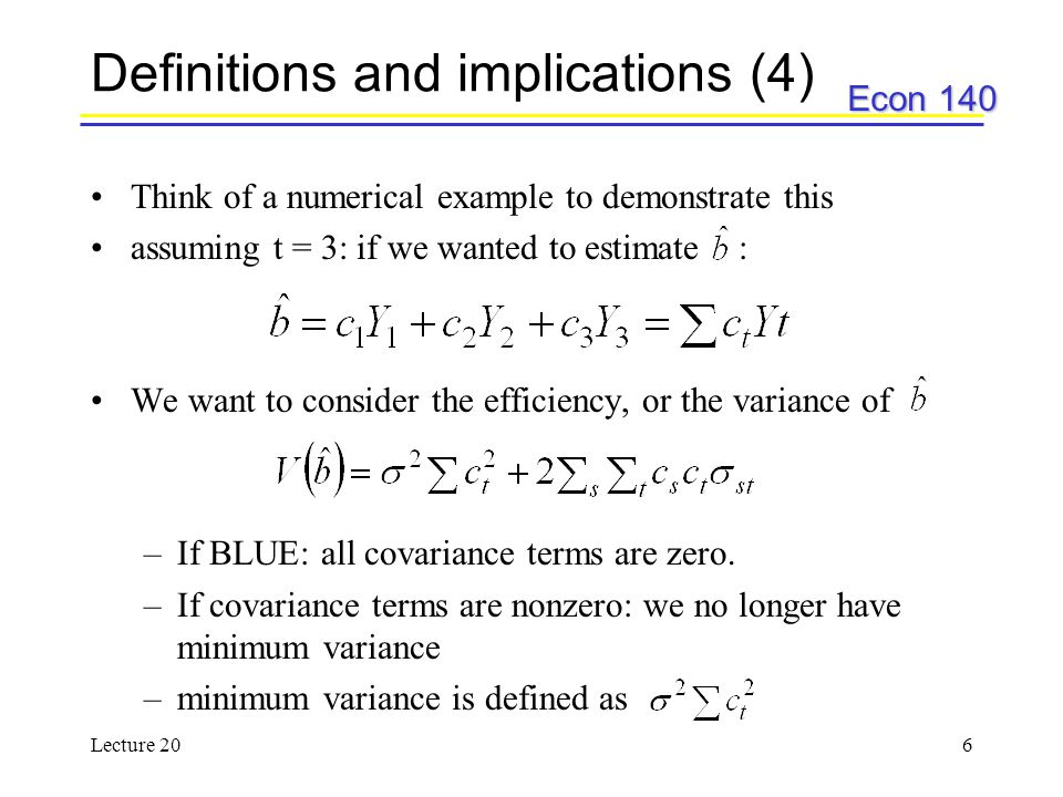 Definitions and implications (4)