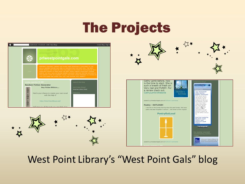 West Point Library's West Point Gals blog