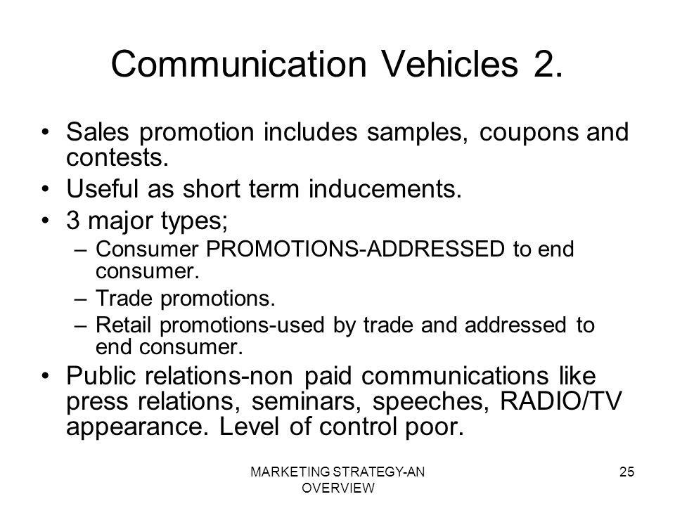 Communication Vehicles 2.
