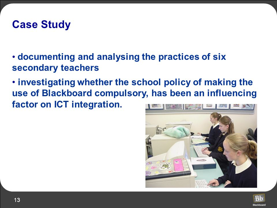 Case Study documenting and analysing the practices of six secondary teachers.