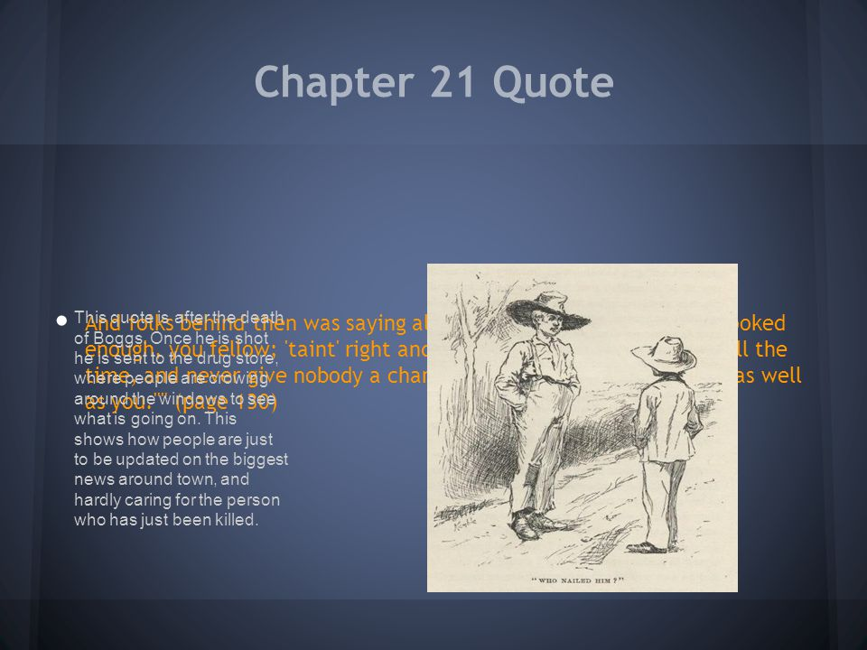 Chapter 21 Quote
