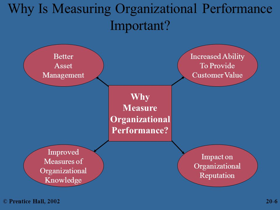 Why Is Measuring Organizational Performance Important