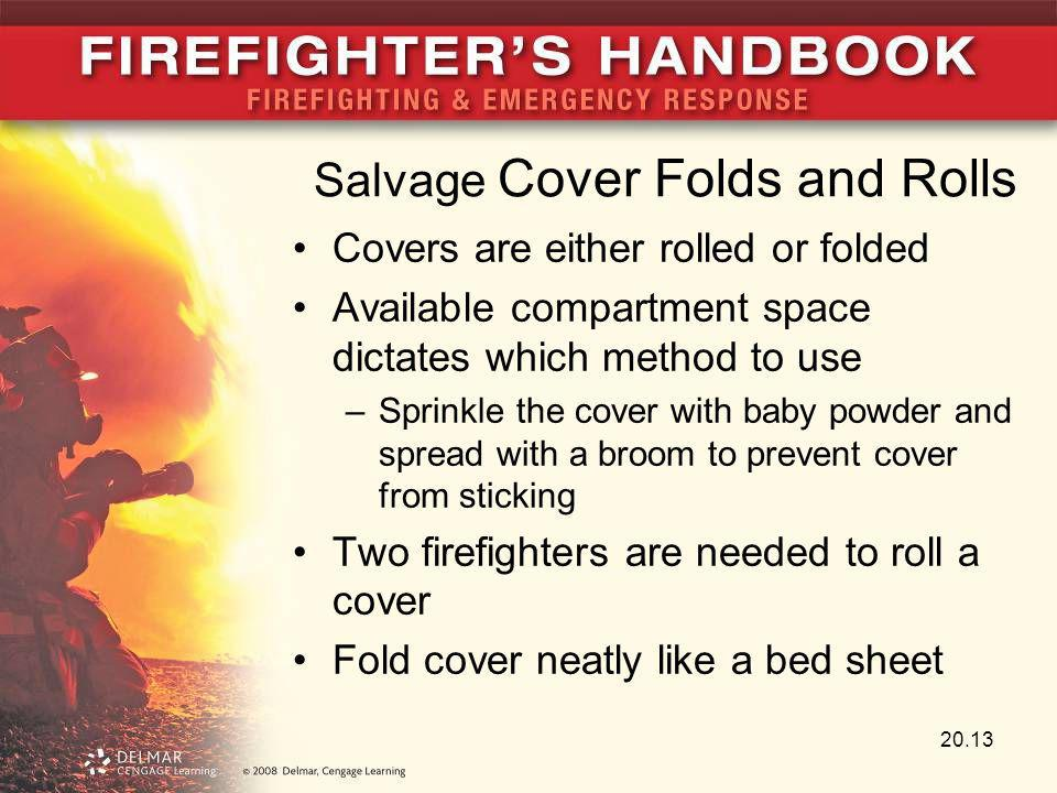 Salvage Cover Folds and Rolls