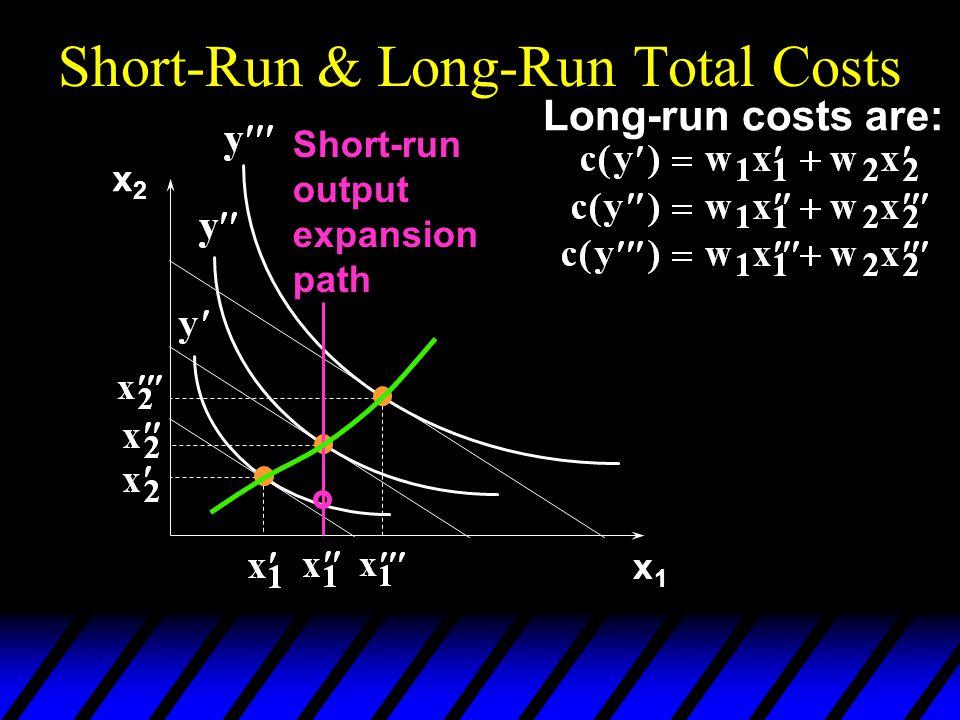 Short-Run & Long-Run Total Costs