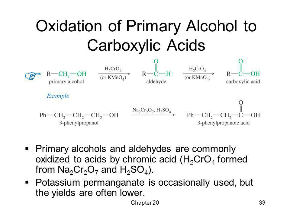 Oxidation of Primary Alcohol to Carboxylic Acids