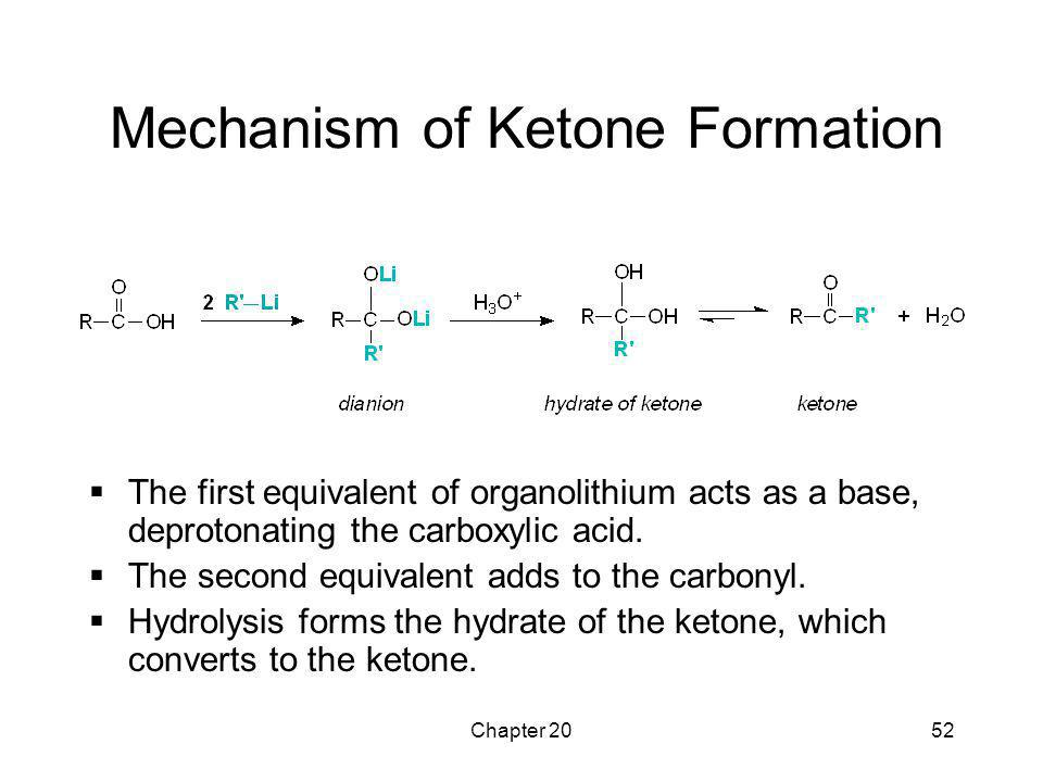 Mechanism of Ketone Formation