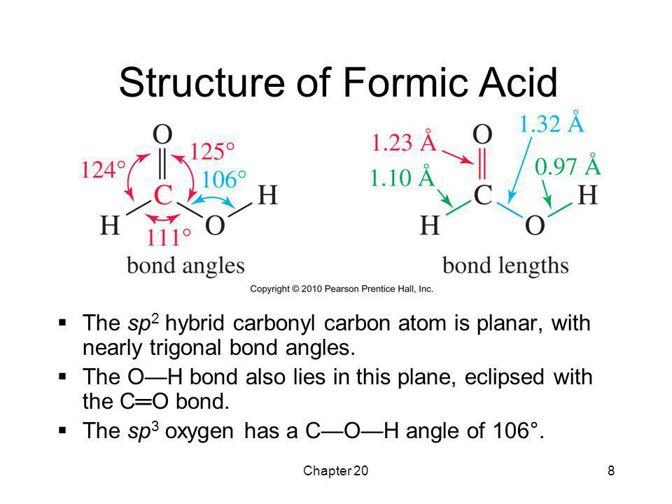 Structure of Formic Acid