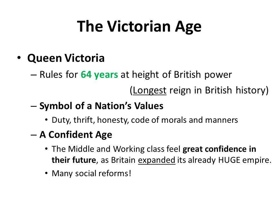 The Victorian Age Queen Victoria