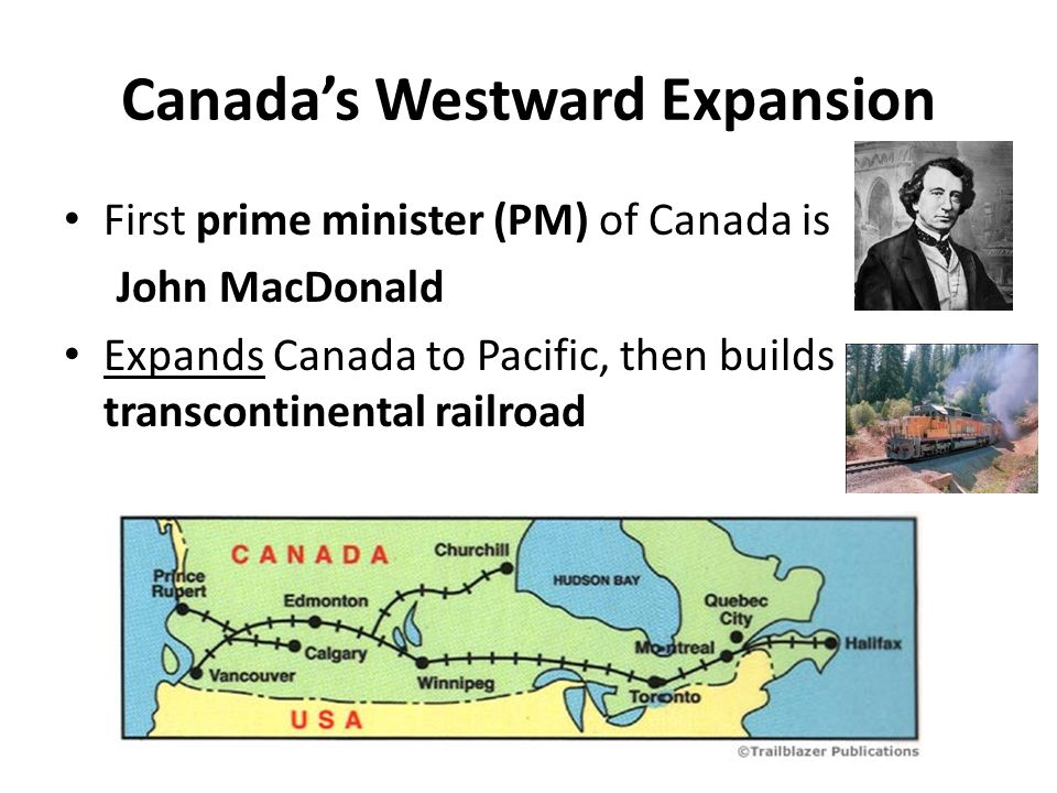 Canada's Westward Expansion