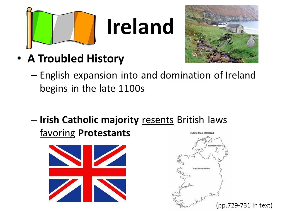 Ireland A Troubled History