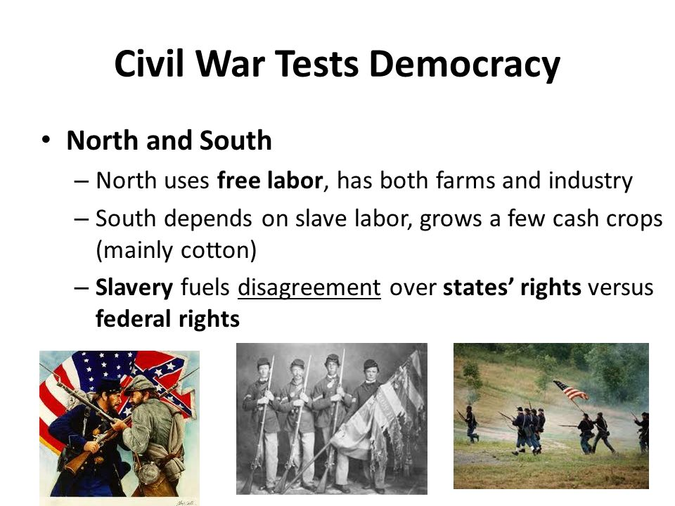 Civil War Tests Democracy