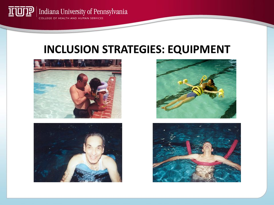 INCLUSION STRATEGIES: EQUIPMENT