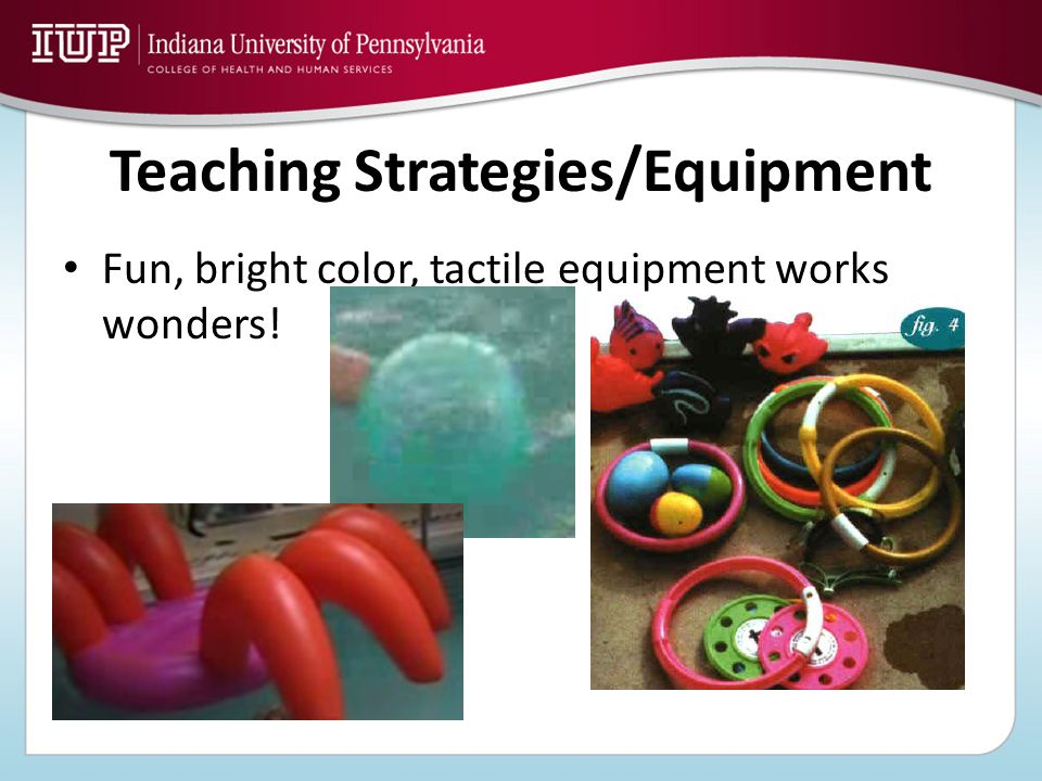 Teaching Strategies/Equipment