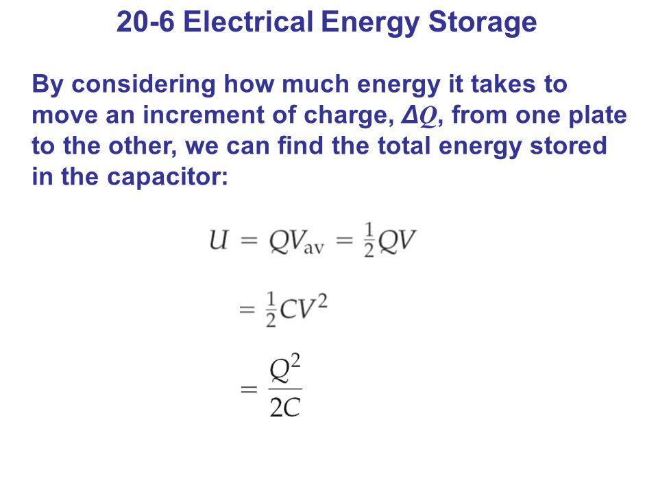 20-6 Electrical Energy Storage