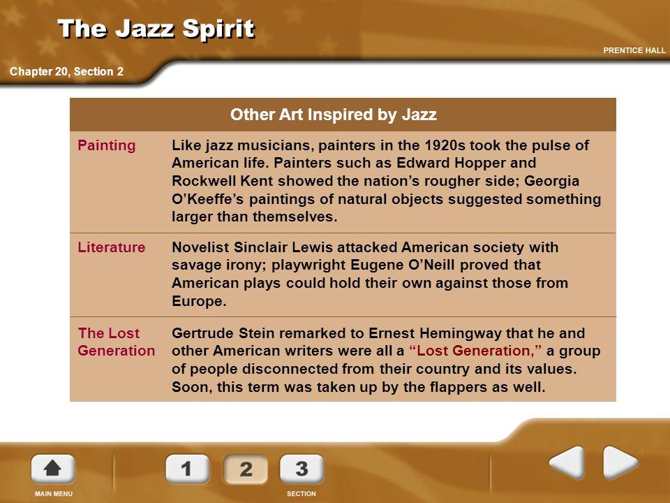 The Jazz Spirit Other Art Inspired by Jazz
