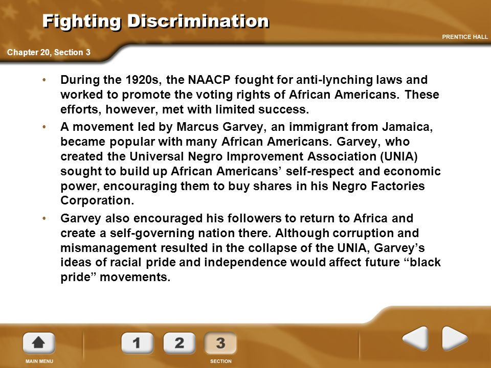 the naacp and the unia s goals Marcus garvey's background had a strong impact on his  but the majority of them followed web dubois and the naacp  the unia also had a women's chapter,.