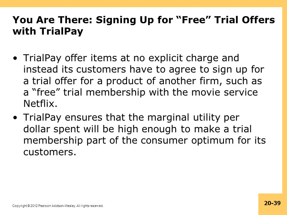 You Are There: Signing Up for Free Trial Offers with TrialPay