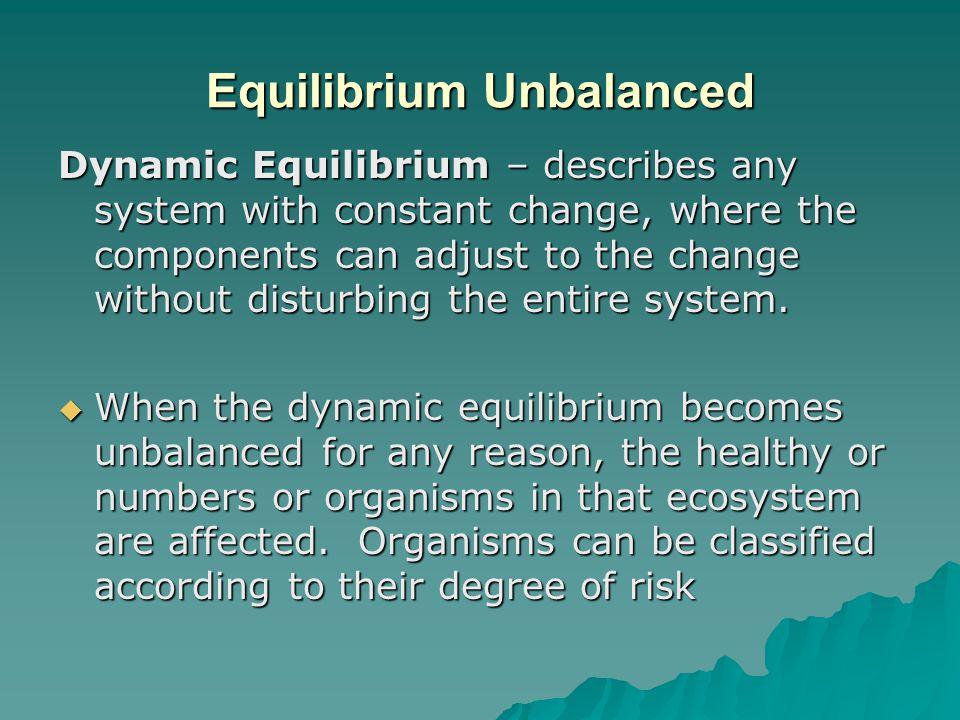 Equilibrium Unbalanced