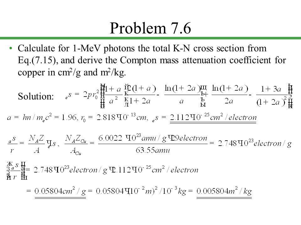 Problem 7.6