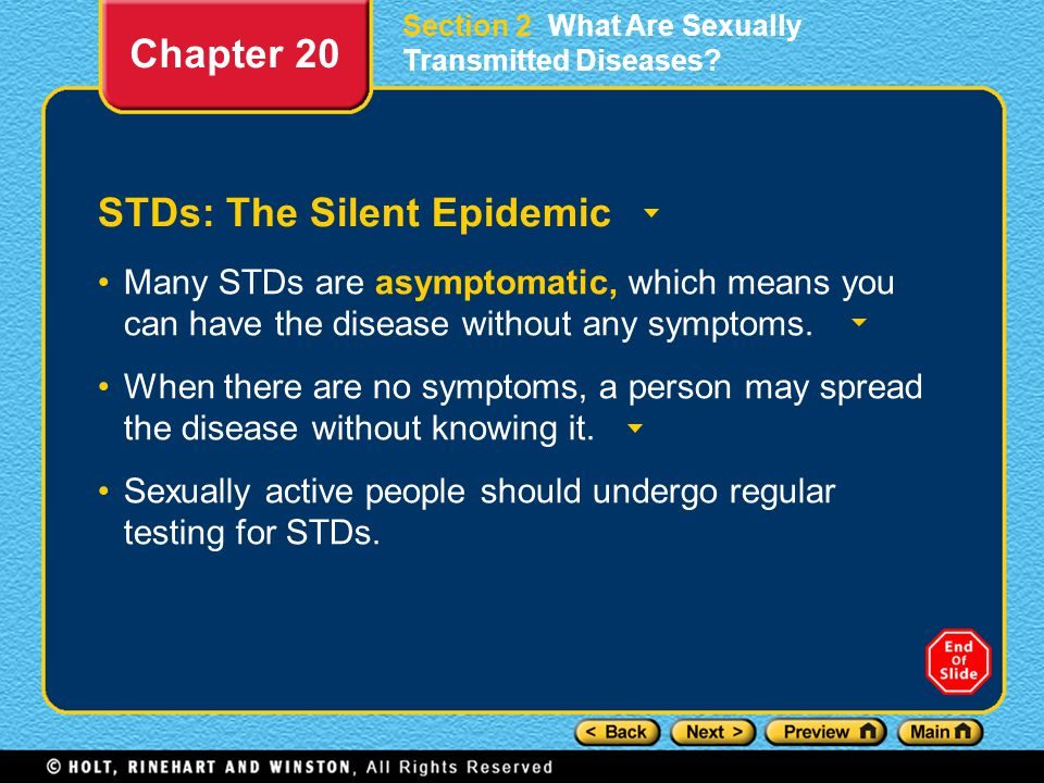 STDs: The Silent Epidemic