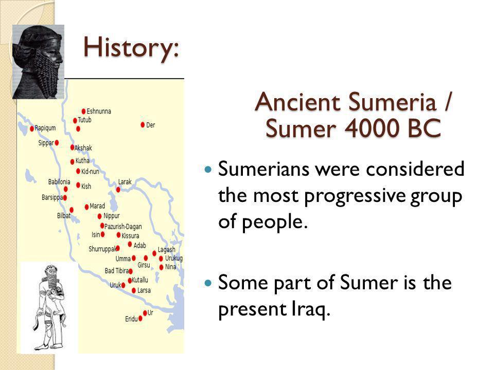 Ancient Sumeria / Sumer 4000 BC
