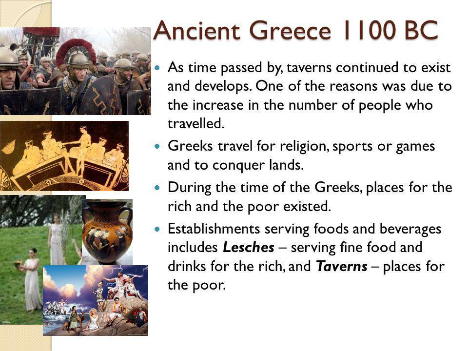 Ancient Greece 1100 BC