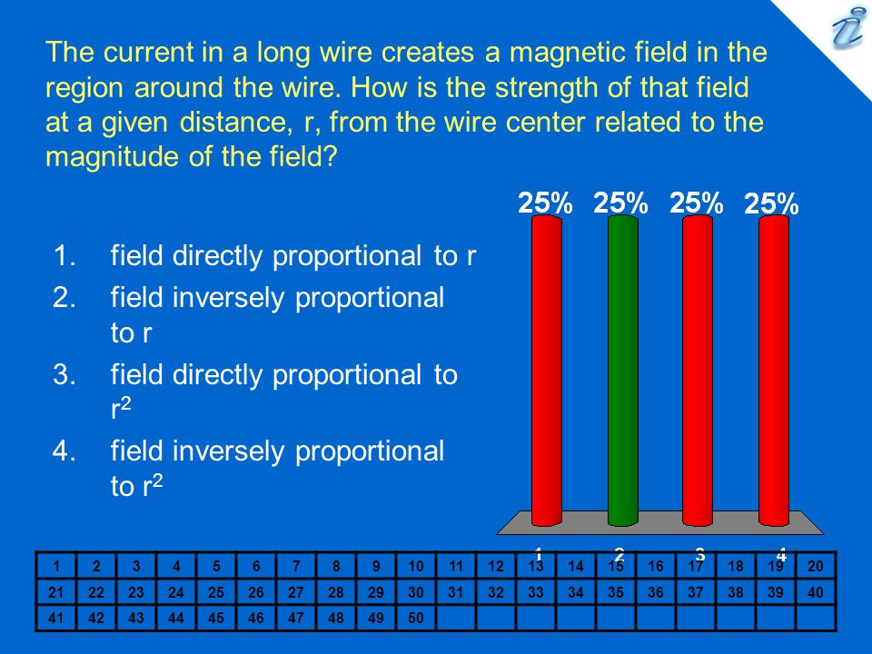 field directly proportional to r field inversely proportional to r