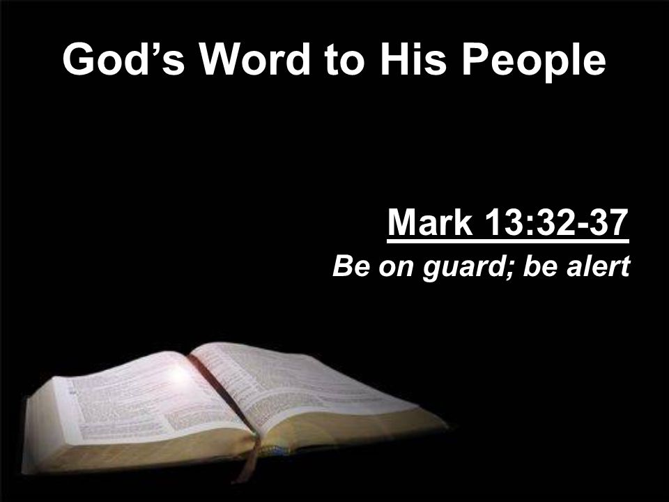 God's Word to His People