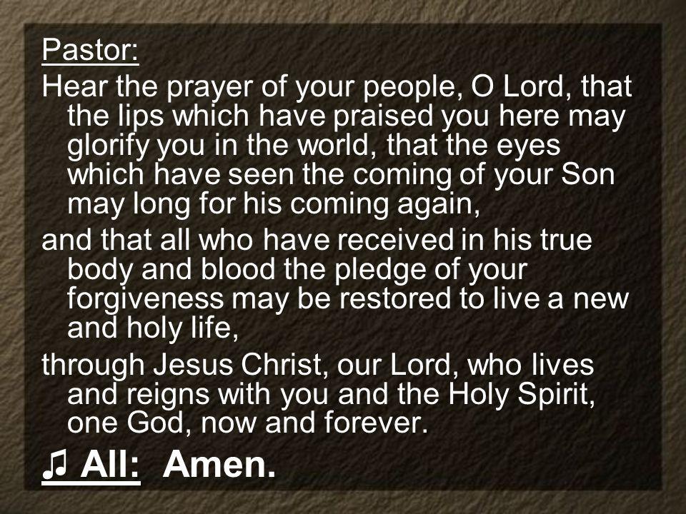 Pastor: