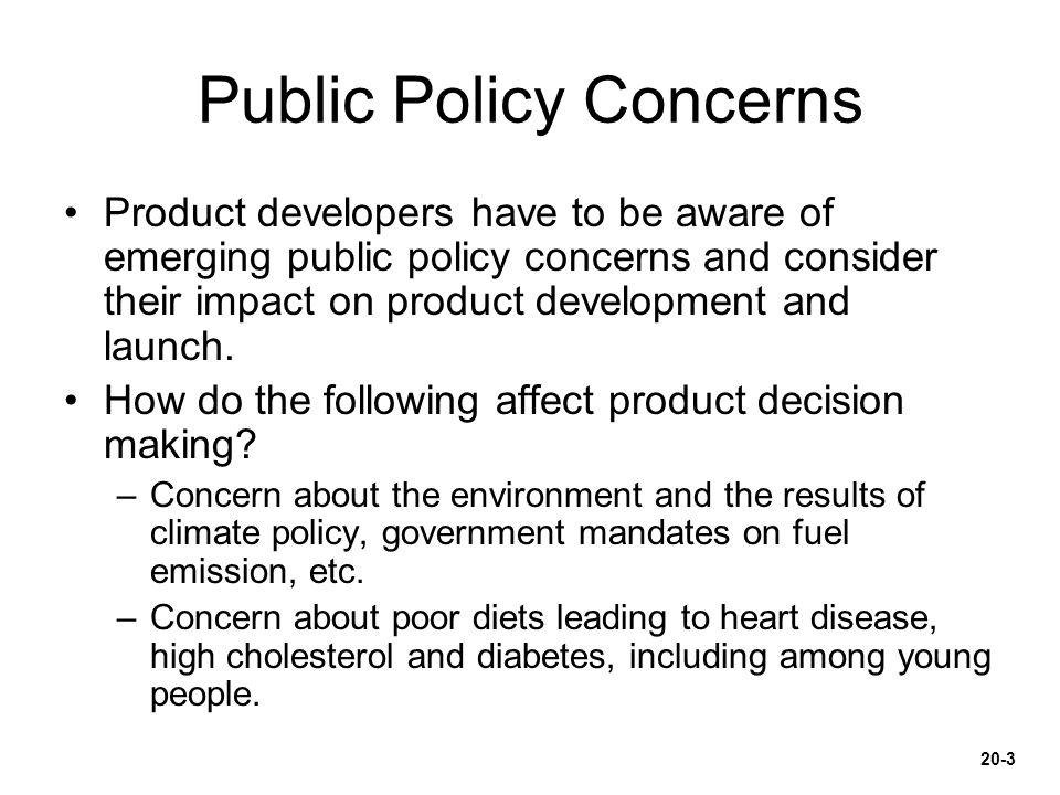 Public Policy Concerns