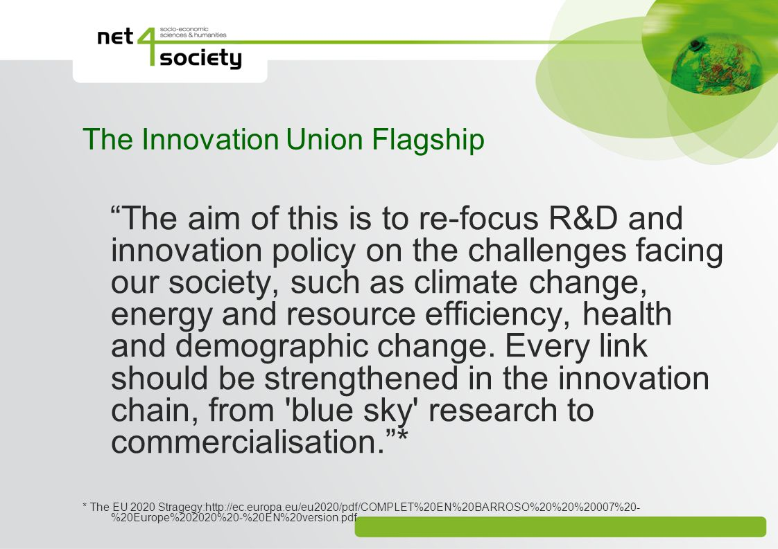 The Innovation Union Flagship