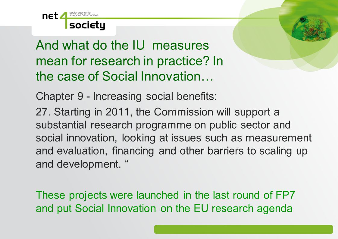 And what do the IU measures mean for research in practice