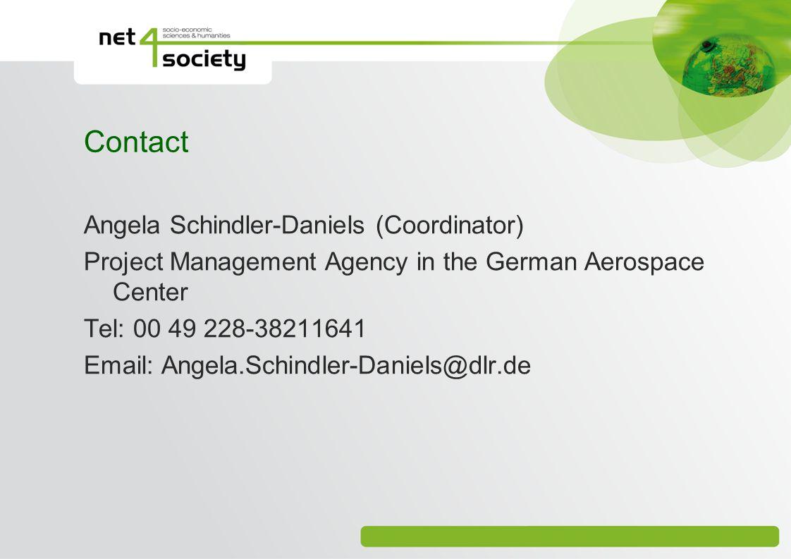 Contact Angela Schindler-Daniels (Coordinator)