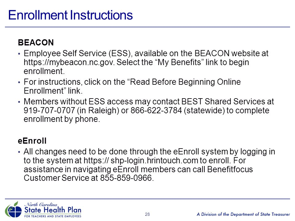 Enrollment Instructions