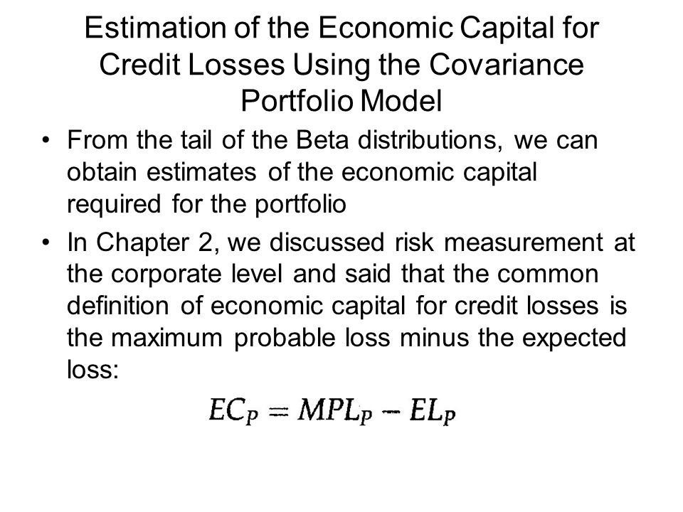 measurement and estimation of credit risk Estimation and prediction of credit risk based on rating transition systems one-factor model to measure the business cycle and proposed a method of calculating.