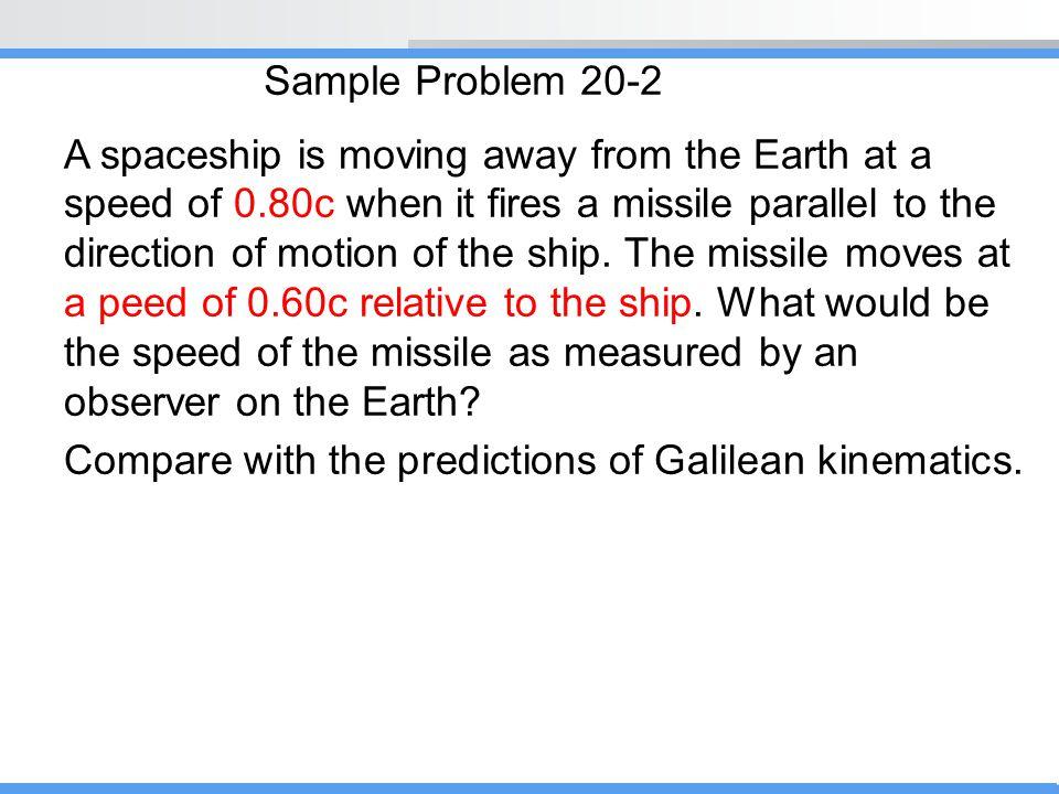 Sample Problem 20-2