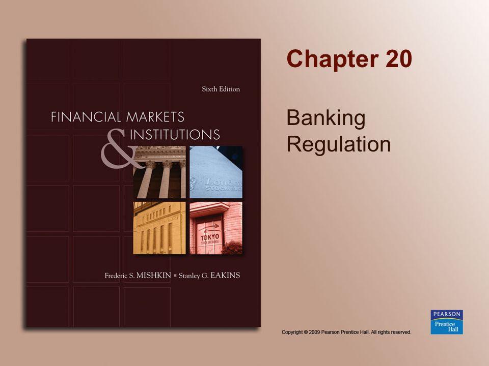 Chapter 20 Banking Regulation