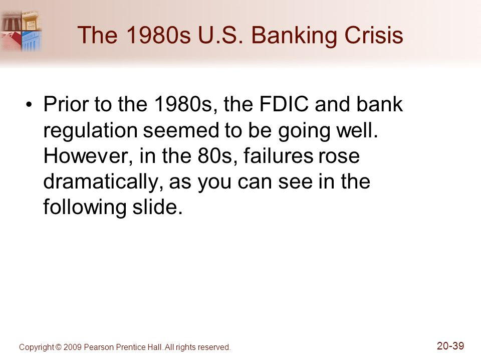 The 1980s U.S. Banking Crisis