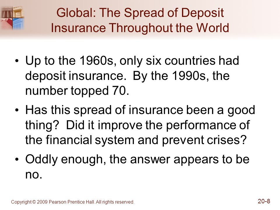 Global: The Spread of Deposit Insurance Throughout the World