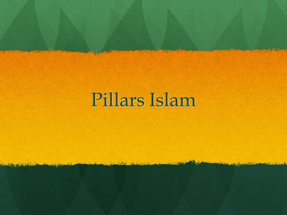 Pillars Islam