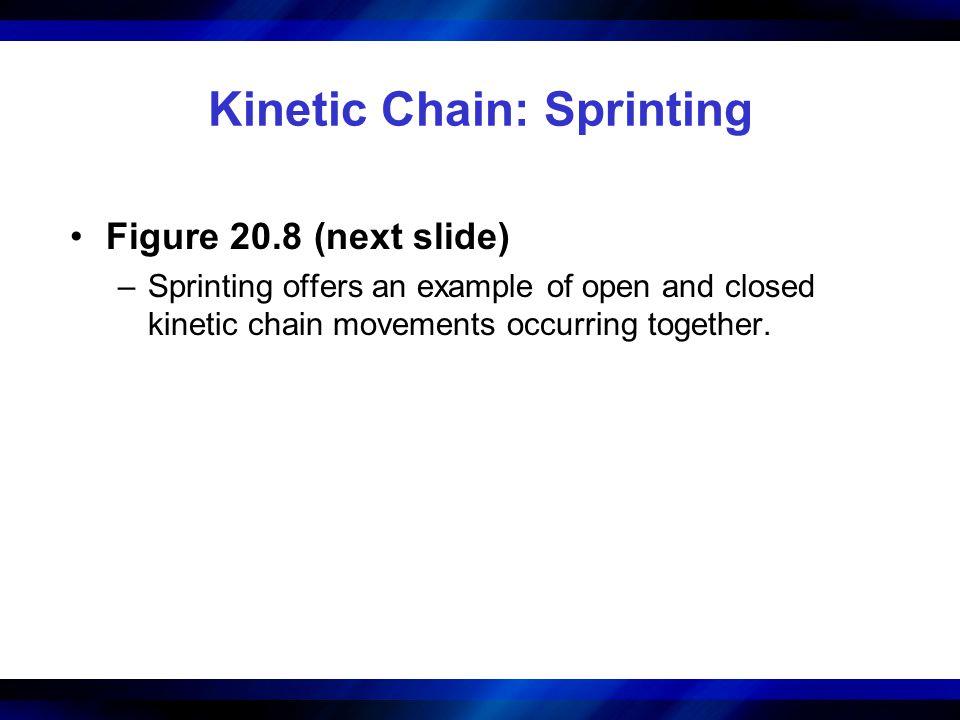 Kinetic Chain: Sprinting