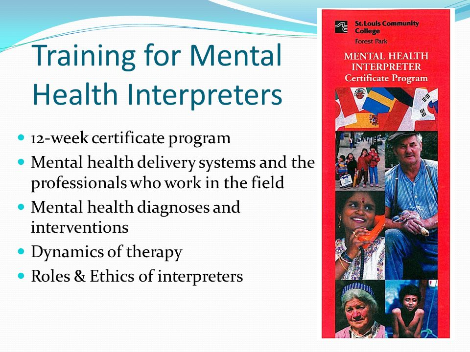 Training for Mental Health Interpreters