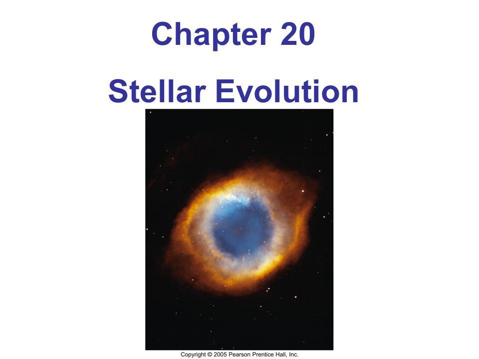 Chapter 20 Stellar Evolution