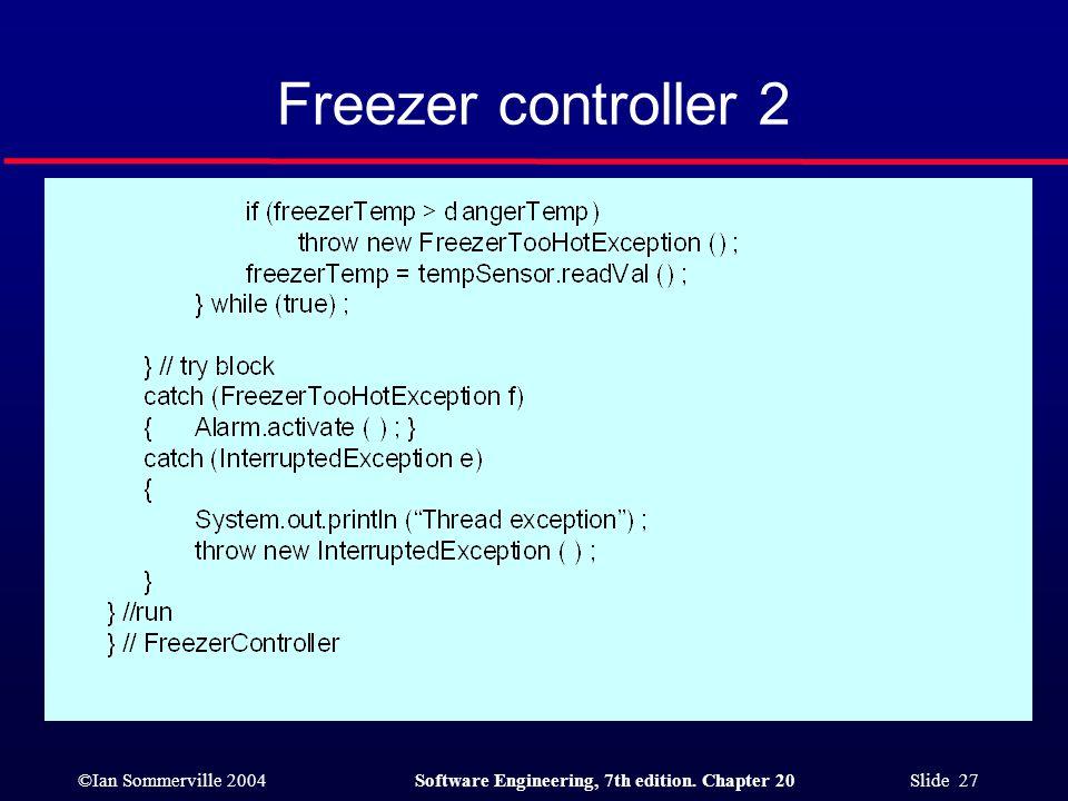 Freezer controller 2
