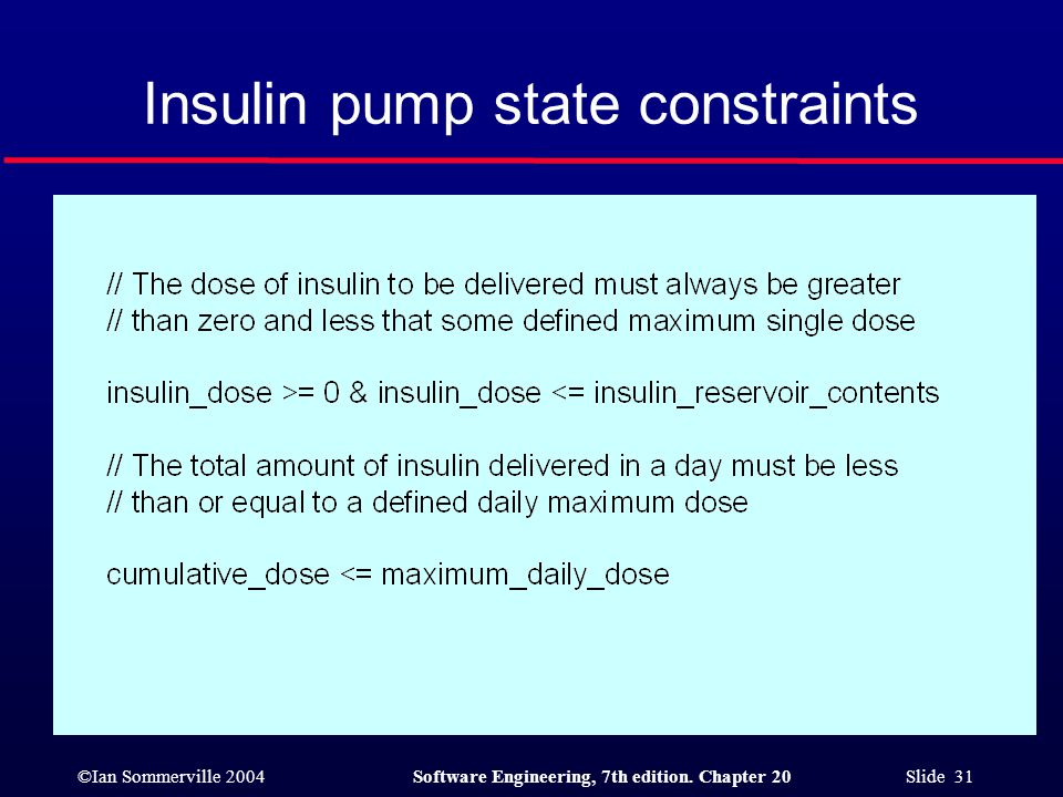 Insulin pump state constraints
