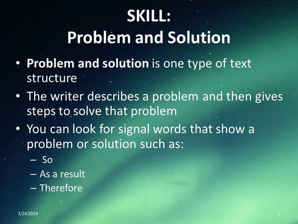 SKILL: Problem and Solution